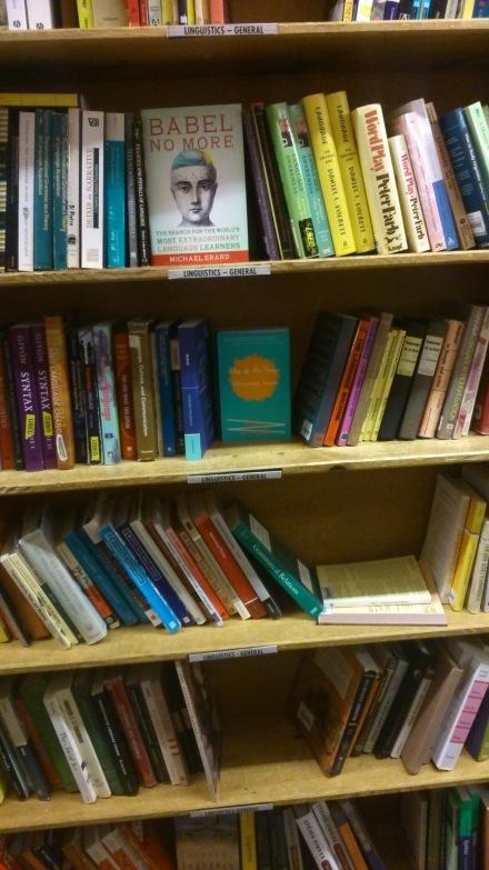 Powell's Portland linguistics section