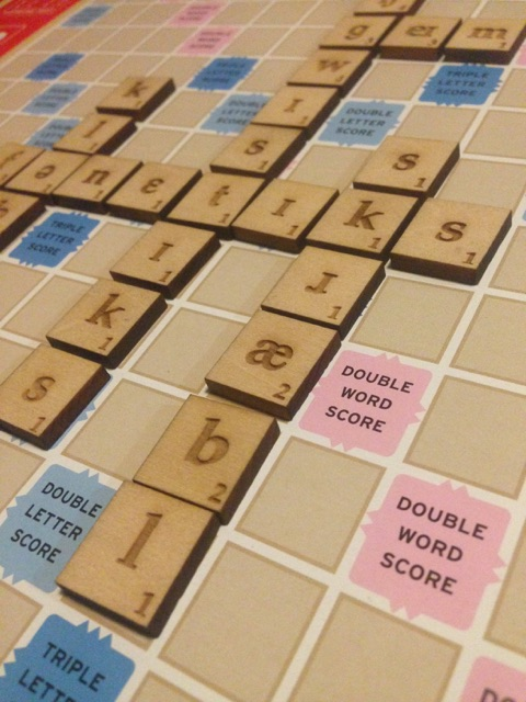 IPA Scrabble set