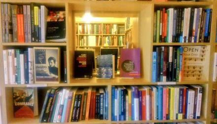 seminary coop bookshelf linguistics+marxism