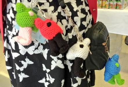 crocheted wugs