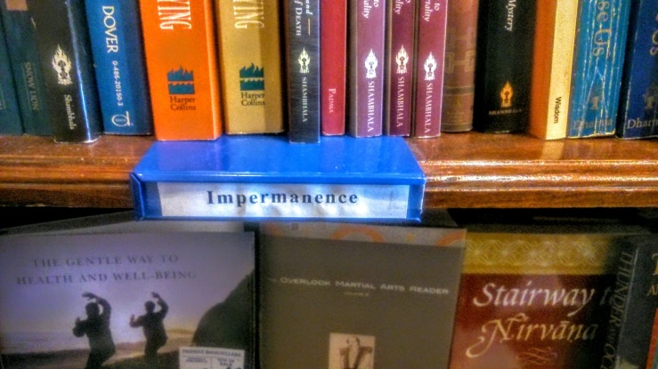 impermanence bookshelfie
