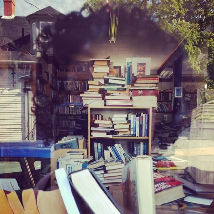 lunenburg window bookshelfie
