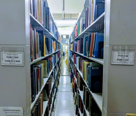 linguistics section MIT libraries bookshelfie.jpg