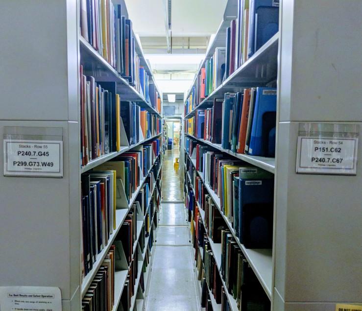 linguistics section MIT libraries bookshelfie.jpg