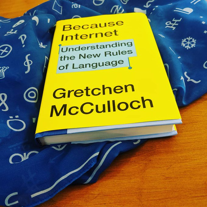 June 2019: First finished copy of Because Internet, plus