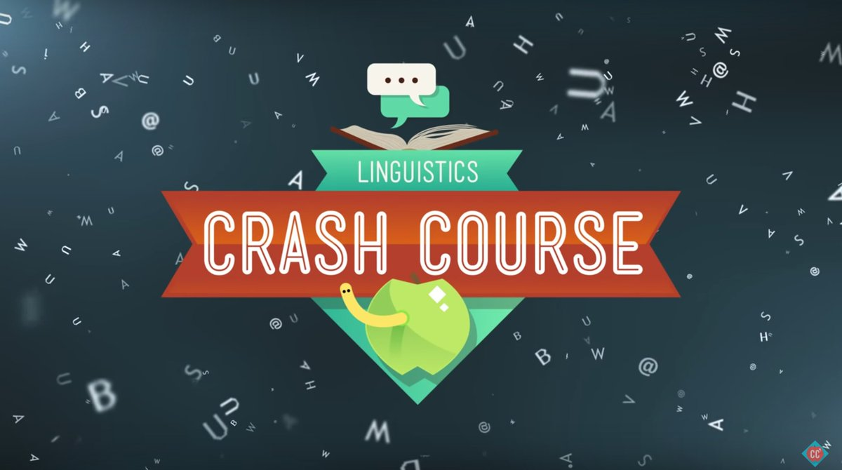 linguistics crash course graphic