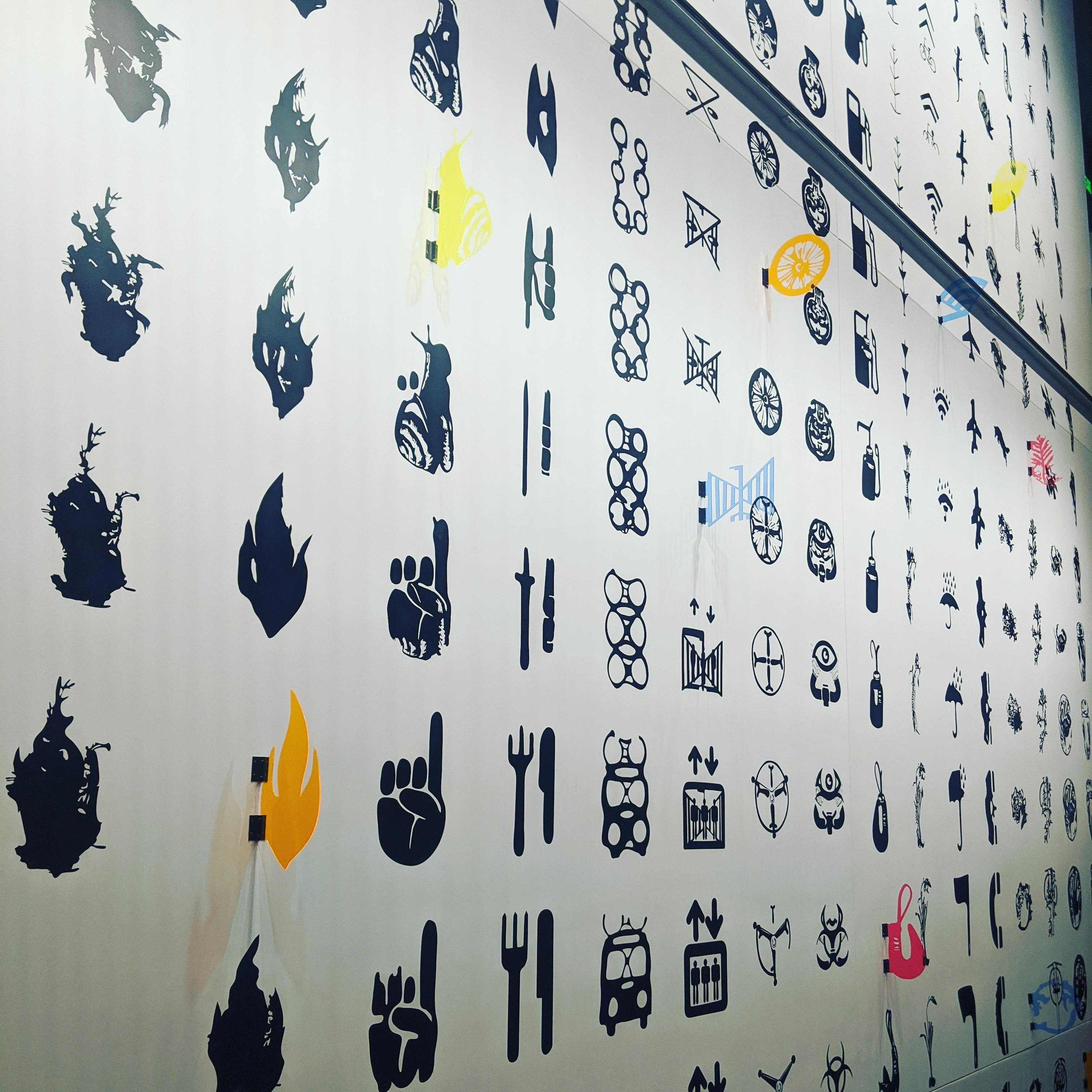 emoji ish symbols escher burke museum seattle aaas