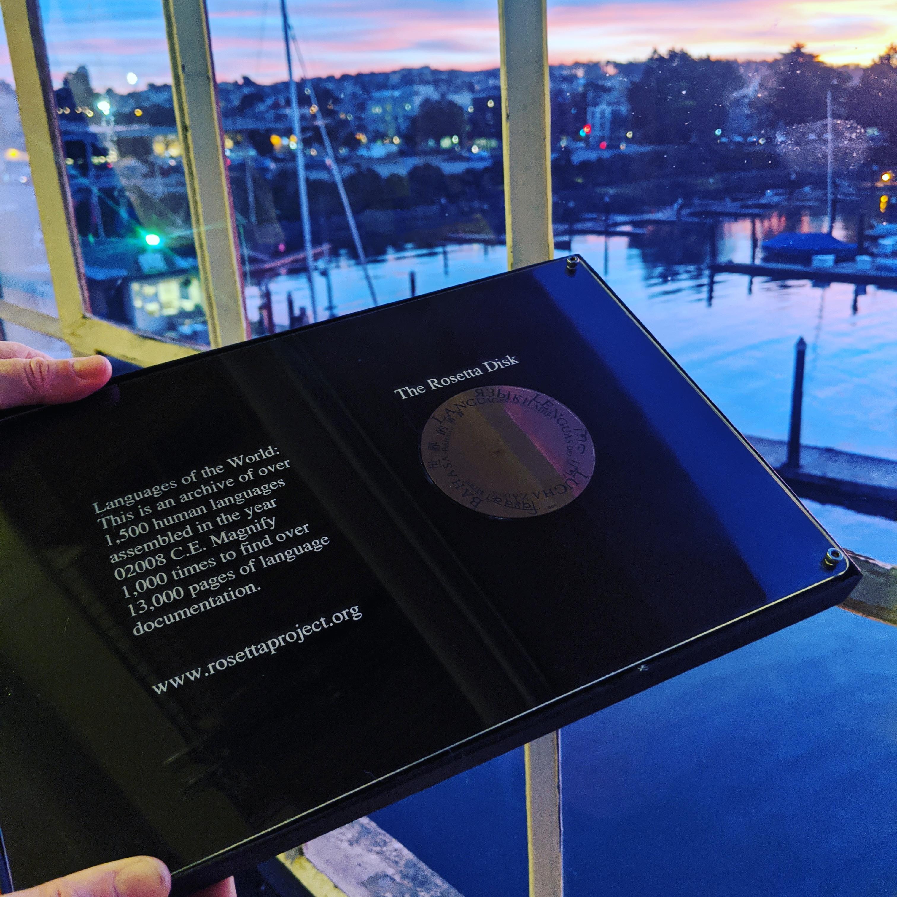rosetta disk panlex sunset